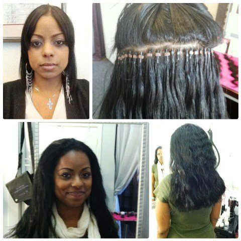 We do African American hair extensions and specialize in various styles of black hair.