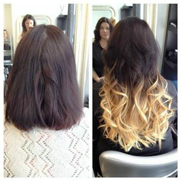 Real Human Hair Extensions | Chicago Hair Extensions Salon
