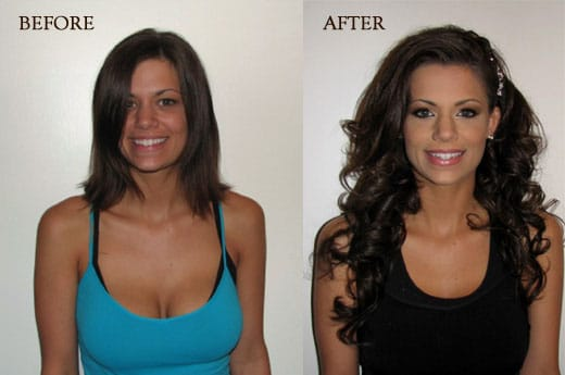 Celebrity style micro bead extensions video