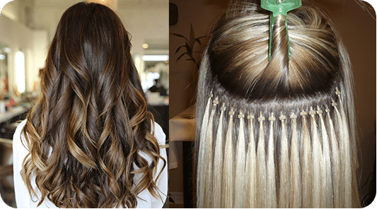 Hair extensions cost in chicago il hair extension prices micro bead hair extensions in chicago pmusecretfo Image collections