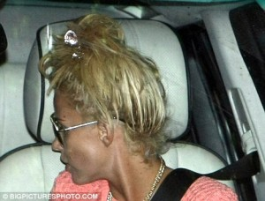 Katie Price Extensions Color Mismatch