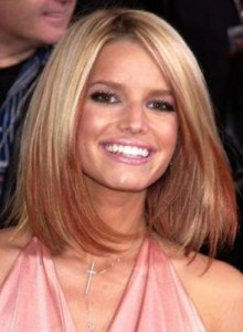 Jessica Simpson Beautiful Hair Weaves