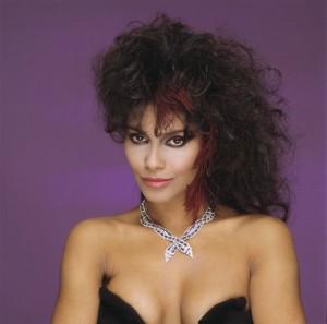 Vanity 1980 hairstyle