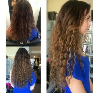 curly hair extensions Chicago area