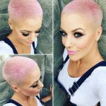 stylish short hairstyles haircuts for women pastel buzzcut