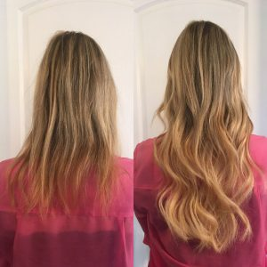 Makeover with Great Lengths Hair Extensions